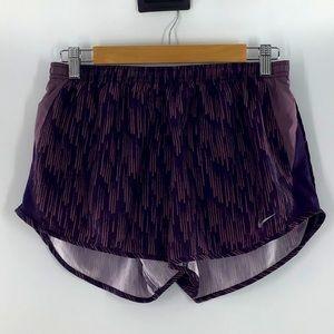 Nike Dri Fit Running Shorts Purple Medium LNC